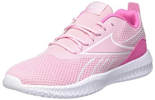 Reebok Flexagon Energy Cross Trainer, Classic Pink/Kicks Pink/White, 33 EU