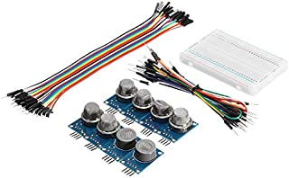 Useful DIY 9Pcs MQ Gas Sensor Module with Breadboard Jumper Wire for with Carton Box Package Durable