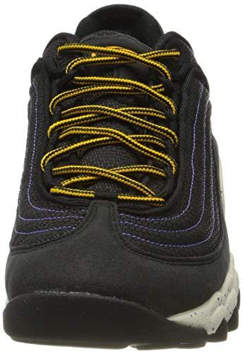 Nike Air SKARN, Zapatillas Deportivas Hombre, Black University Gold Psychic Purple, 43 EU