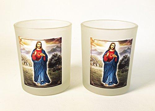 CKK Home Decor Set von 2Jesus Großer Milchglas Kerzenhalter