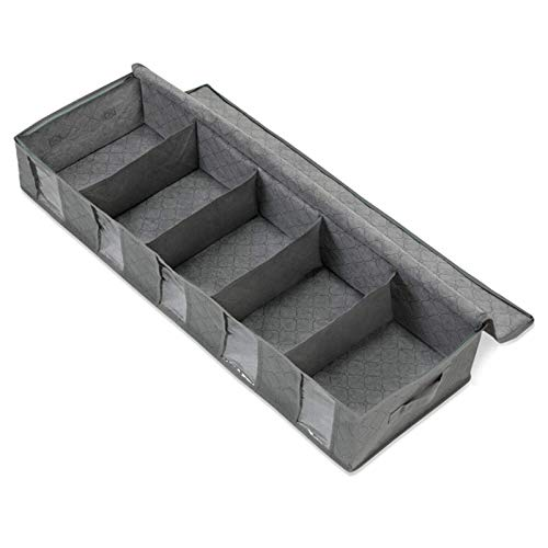 Bolsas de almacenamiento Organizador de armario de gran capacidad debajo de la cama Bolsa de almacenamiento zapatos contenedor de ropa no tejido