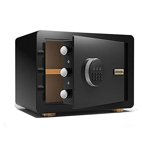 CoRxg Digitale elektronische kluis van staal met kluis toetsenbord, 2 toetsen voor het wijzigen van de lokale handmatige beveiliging van de Denaro sieradenpaspoort hotel