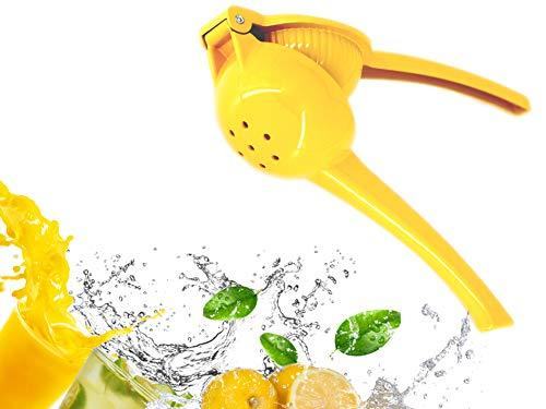 YT Citrus Lemon Squeezer Fruit Juicer Premium Quality Lime Handheld Press Heavy Duty Metal Alloy for Kitchen Party Drink Cocktail Mocktail