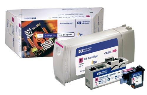 HP 81Value Pack de origen Entree Magenta para DesignJet 5000