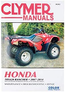 Clymer Repair Manuals for Honda Rancher 420 4x4 ES 2007-2014