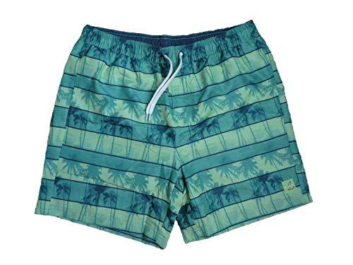 Maui Sports Herren Badeshorts Badehose Freizeitshorts Blau Grün Gr. L XL (Grün, L)