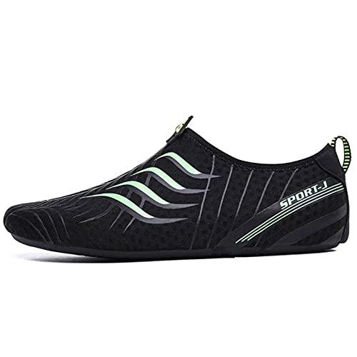 N\C Cómodo y de secado rápido de los hombres de la playa de surf zapatillas plana suave de los deportes de agua zapatos de los hombres Calzado de natación zapatos de los hombres de buceo zapatos