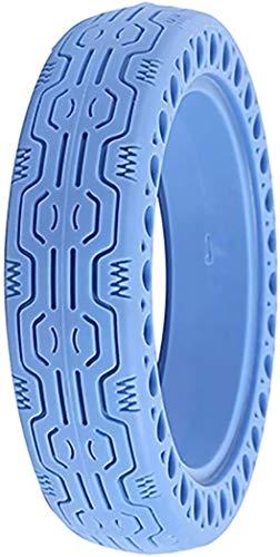 LKHF Neumáticos sólidos para Scooter, para diseño sólido de neumático de Scooter eléctrico M365, neumáticos Delanteros/Traseros de Goma Maciza de 8,3 Pulgadas, Ruedas de Repuesto para Scooters