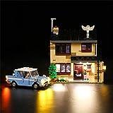 HYMAN Juego de iluminación LED, decoración para Harry Potter Ligusterweg 4, compatible con Lego 75968 (no modelo Lego).