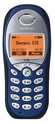 Siemens C45 Telefono cellulare, colore: blu Oriente