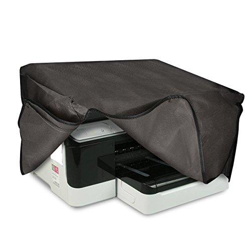 kwmobile Staubschutzhülle kompatibel mit HP OfficeJet Pro 8700series - Hülle Drucker - Schutzhaube Schutzhülle - Dunkelgrau