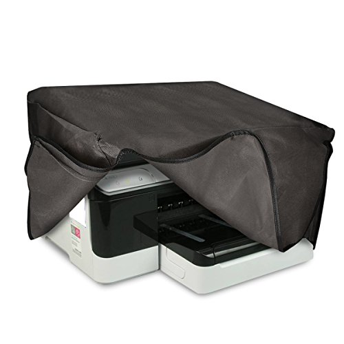 kwmobile Hülle kompatibel mit HP OfficeJet Pro 8700series - Drucker Staubschutzhülle Schutzhaube Schutzhülle - Dunkelgrau
