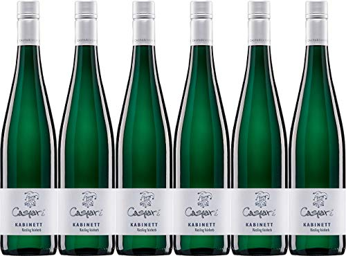 Caspari-Kappel Kabinett Riesling 2018 Feinherb Bio (6 x 0.75 l)