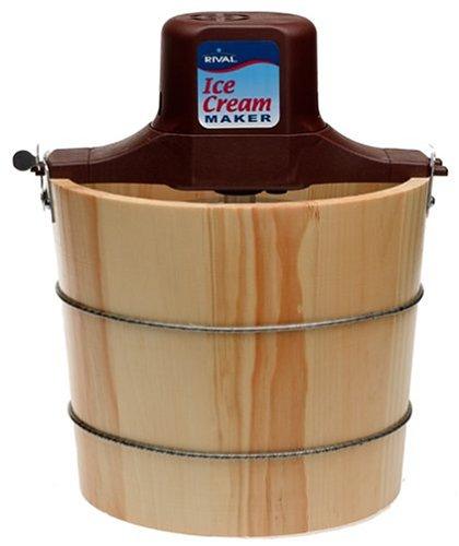 Rival 8550-X 5-Quart Wooden Electric Ice Cream Maker