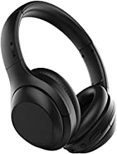 VIPEX Active Noise Cancelling Headphones, Bluetooth 5.0 Headphones Wireless Over Ear Headphones with Microphone, All Day Power with 30 Hours Playtime, Comfortable Protein Earpads (Black)