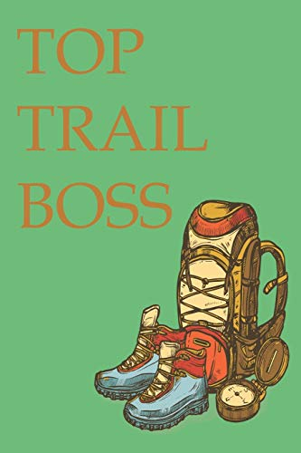Map my Trail Run Nature Journal with Wide Lines, Blank Spaces & Graph Paper for Hiking Trails, Running Trails - ALL Trails where I'm Top Boss
