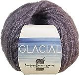 Hilo de Lana boucle para Tejer Crochet Ganchillo o Punto Torrijo GLACIAL 50g, Ovillo de Lana Suave Acrílica y Poliamida para Tejer   1 Unidad, Color 3016