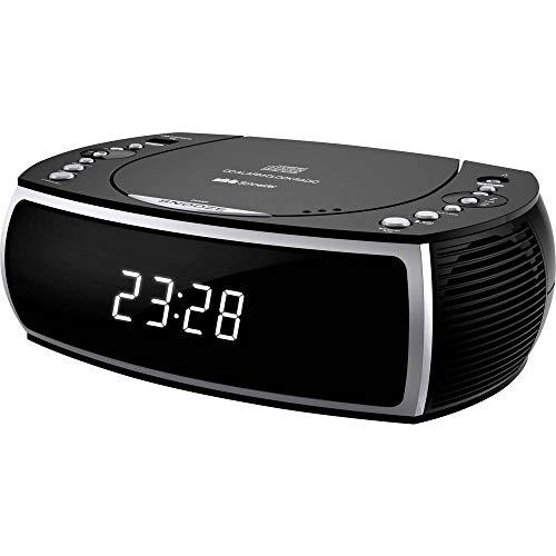 Silva Schneider CCD 16 schwarz UKW Radiowecker Lautsprecher Uhrenradio USB Black