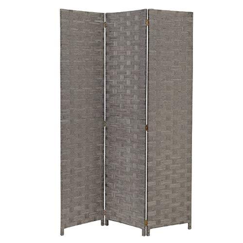 baratos y buenos LOLAhome Paraguas de madera plegable moderno (gris) calidad
