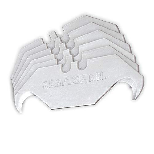 CRAFTSMAN Utility Knife Blades, Hook, 50-Pack (CMHT11146L)
