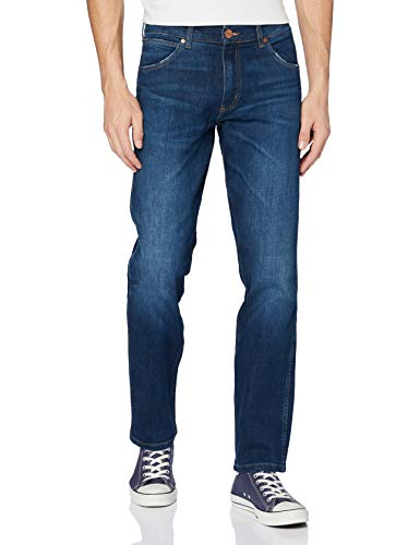 Wrangler Herren Greensboro Regular Jeans, For Real 027, 33W / 32L