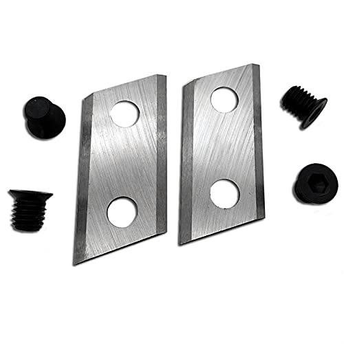 without FMN-HOME, 1 Pair Garden Shredder Chipper Blades Knifes For Eco...