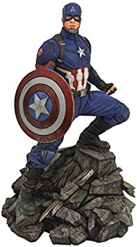 DIAMOND SELECT TOYS Marvel Premier Collection  Avengers Endgame Captain America Statue,Multicolor