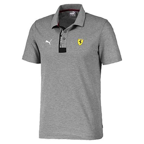 PUMA Polo Ferrari pour Homme Medium Gray Heather S