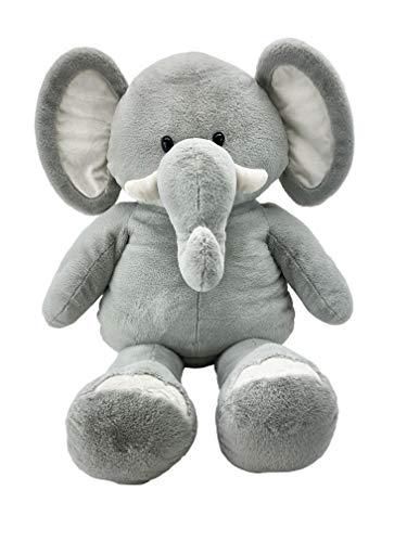 Animal Adventure   Exclusivo de Amazon   Sqoosh2Poof   Personaje de Peluche Jumbo comprimido Dentro de Caja pequeña   Elefante de 111,8 cm