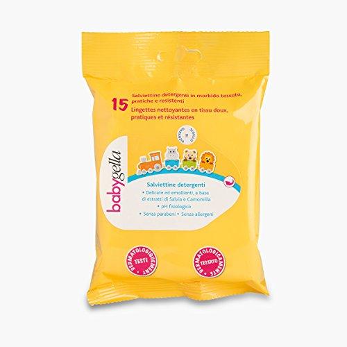 Babygella Salviettine Detergenti Per Pelle Bambino Pulizia Quotidiana 15 Unità - Gr