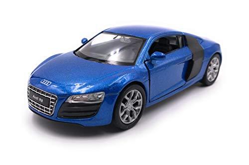 Onlineworld2013 Modellauto R8 Sportwagen Zufällige Farbe! Auto Maßstab 1:34-39 (lizensiert)