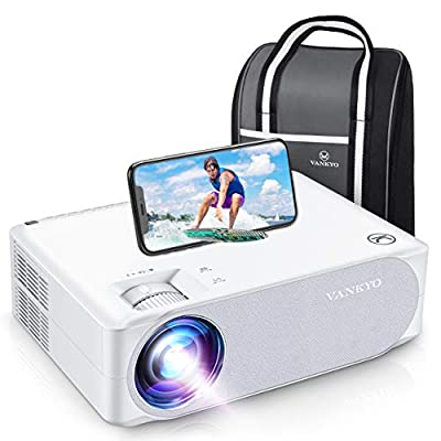 "VANKYO Performance V630W Upgraded Native 1080P Projector, Full HD WiFi Projector, Supports 5G Synchronize Smartphone Screen & Max 300"", Perfect for Home Outdoor Movies, Compatible w/TV Stick/HDMI/PS4"