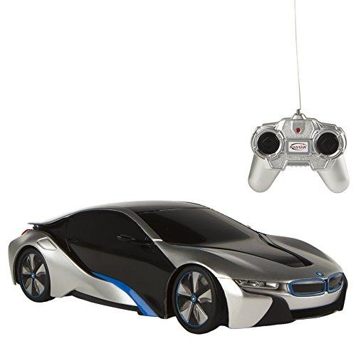 rastar–Auto radiocomandata BMW i8, Colorbaby 75771 1:24 Grigio