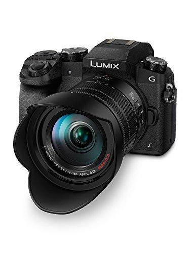 Panasonic DMC-G70HEG-K Systemkamera (16 Megapixel, 4K Video, 7,5 cm (3 Zoll) Touchscreen, WiFi) mit Objektiv Lumix G (14-140mm/F3,5-5,6) Power OIS schwarz