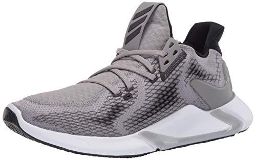 adidas Men's Edge Cross Trainers Running Shoe, Dove Grey/Black/White, 12 M US