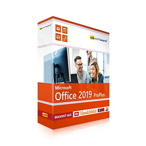 Dauerlizenz Office 2019 PRO (Professional Plus) DVD mit original Lizenz - S2 Software-Box. Papiere & Zertifikate. Alle Sprachen 32 & 64bit