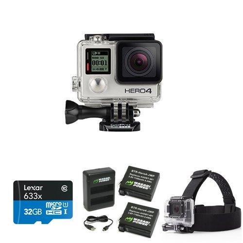 GoPro HERO4 SILVER Starter Bundle