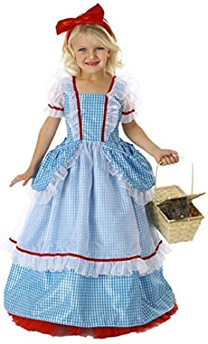 Wizard of Oz Pocket Deluxe DGoldthy Costume, Medium (8) by Official Costumes