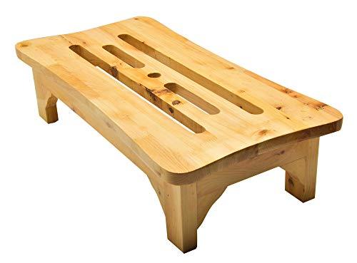 12 en. Tabouret pas japonais en bois