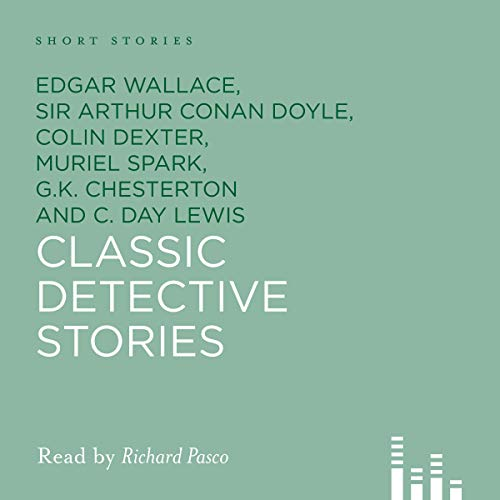 Classic Detective Stories audiobook cover art