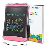 NEWYES Tableta de Escritura LCD 8.5'' con Funda, Pizarra Digital, Tablet para Niños (8.5'' con Funda Negro)
