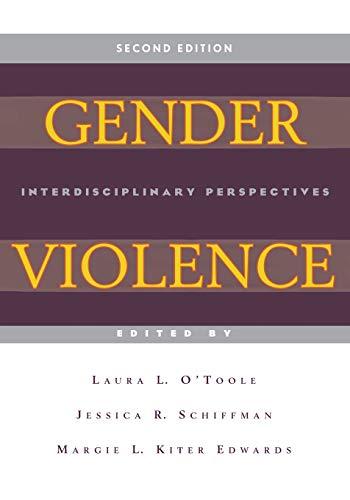 Gender Violence, 2nd Edition: Interdisciplinary Perspectives