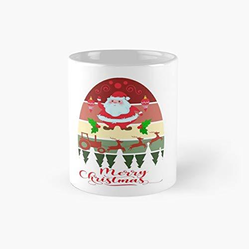 Taza clásica de Santa Unicornio | El mejor regalo divertidas tazas de café 11 oz