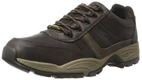 camel active Herren Evo GTX 20 Sneaker, Braun (Mocca/Grey 4), 45 EU