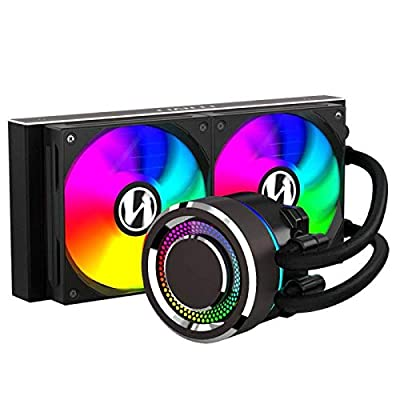 Lian-Li GALAHAD 240mm High Performance RGB CPU Water Cooler Black