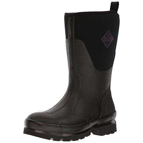 Muck Chore Rubber Women's Work Boots,Black,9 B US