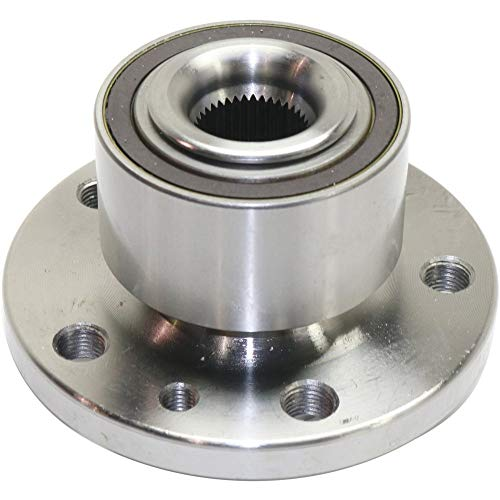 Evan-Fischer Front Wheel Hub and Bearing Compatible with 2010-2017 Volvo XC60 / 2011-2016 Volvo S60 With ABS Encoder, Set of 2, Driver and Passenger Side