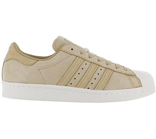adidas Originals Superstar 80s Sneaker Beige/Weiß, Schuhgröße:EUR 42