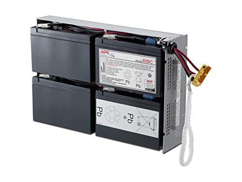 APC RBC24 - Ersatzbatterie für Unterbrechungsfreie Notstromversorgung (USV) von APC - passend für Modell SUA1500RMI2U und andere