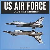 Us Air Force 2021 Wall Calendar: 2021 office Calendar, 18 Months Calendar 8.5x8.5